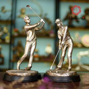 Tượng Đánh Golf Trang Trí Nhà Cửa, Quà Tặng Sếp