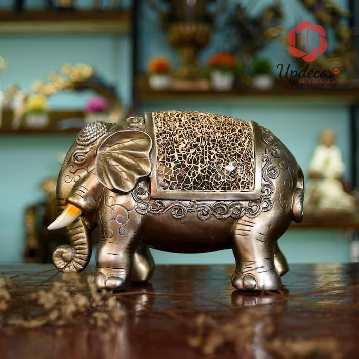 Tượng voi Thái Lan mang ý nghĩa sức khỏe và tài lộc đến gia chủ