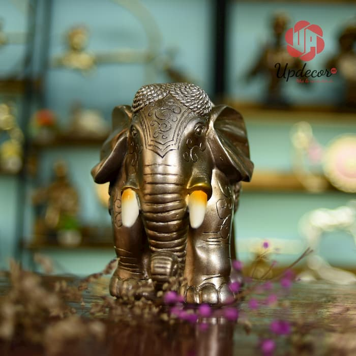 Tượng voi với kích thước 31x22 cm