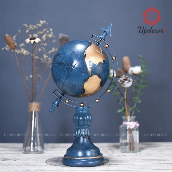 Quả địa cầu màu xanh cổ vịt chính là sản phẩm bán chạy nhất trong 4 mầu