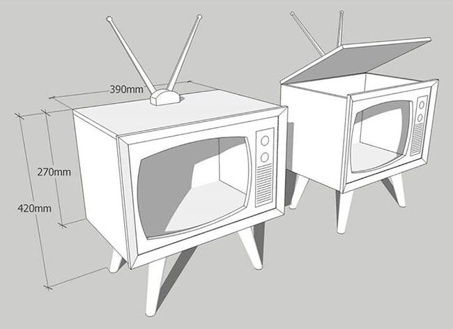 mô hình tivi