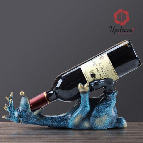 Giá Đỡ Rượu Vang Đẹp Chú Hươu Trang Trí Bàn Tiệc, Decor Nhà Cửa