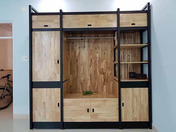 Lợi ích mà tủ quần áo lắp ráp bằng gỗ