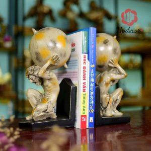 Đồ Chặn Sách Đẹp Để Bàn Thần Atlas