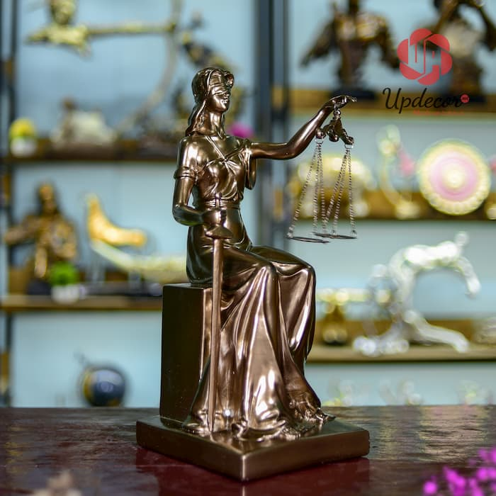 Tượng Nữ Thần Công Lý Trang Trí Nhà Cửa, Decor Văn Phòng