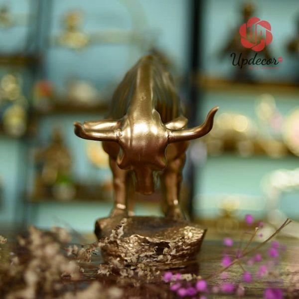 Tượng bò tót trang trí nhà cửa, quà tặng ý nghĩa cho người thân bạn bè