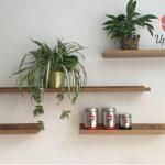 Tự làm kệ gỗ treo tường