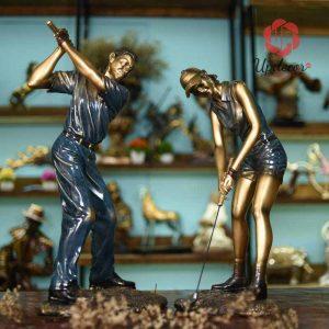 tượng đánh golf, đồ trang trí nhà, đồ trang trí phòng khách