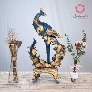 Tượng chim công hay còn gọi là tượng Khổng Tước là món đồ trang trí nhà cực đẹp và ý nghĩa