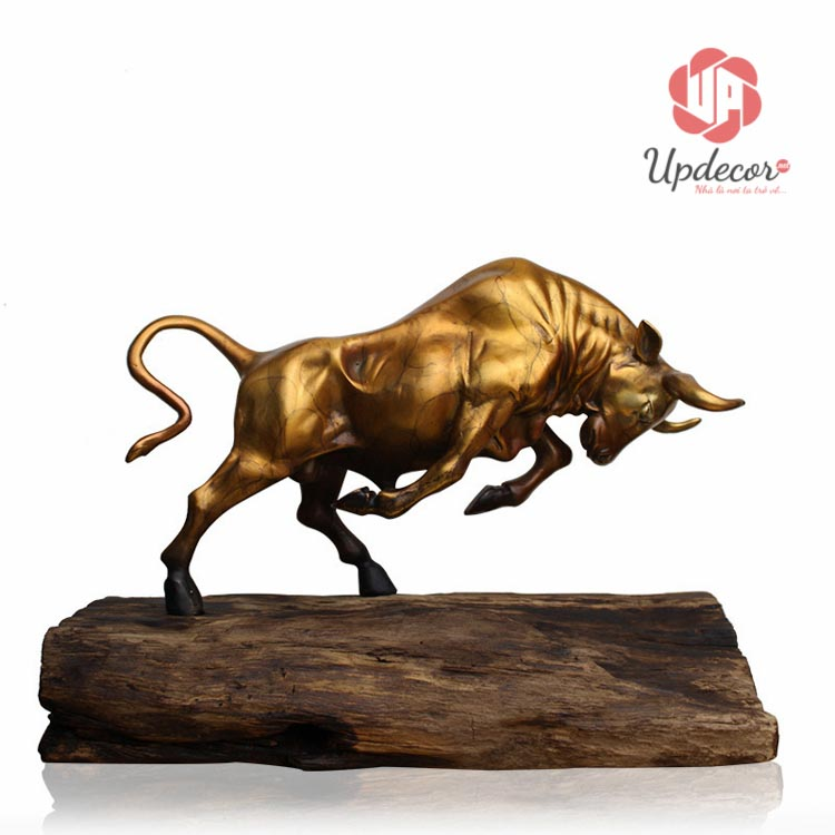 tượng bò tót bằng đồng cho độ bền vĩnh viễn
