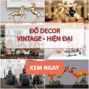 Đồ Decor Vintage - Hiện Đại