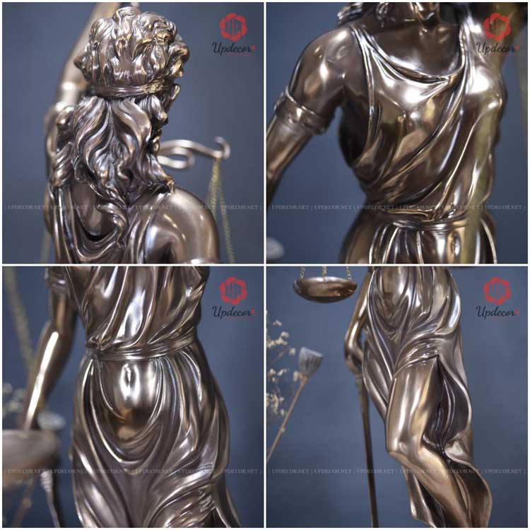 Các hình ảnh chi tiết khác của bức tượng