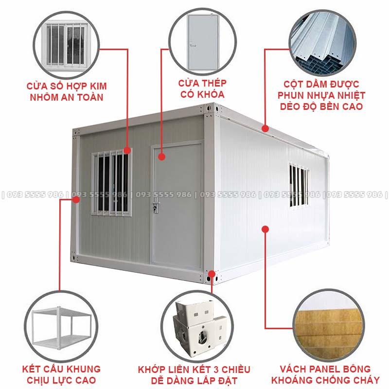 Nhà Container Lắp Ghép Được Lắp Đặt Hoàn Thiện Từ Những Vật Tư Có Sẵn Nên Rất Nhanh Chóng Và Tiện Lợi