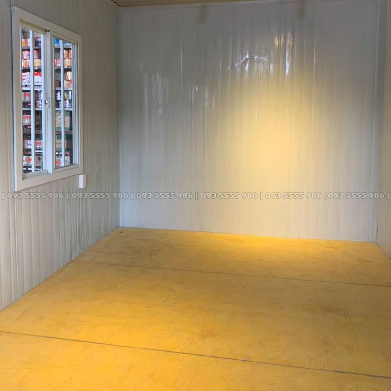 Sàn nhà được làm từ hợp kim magie thủy tinh có khả năng chống cháy, chống nước, chống ẩm mốc rất hiệu quả, có thể nói đây là một loại vật liệu thách thức với thời gian